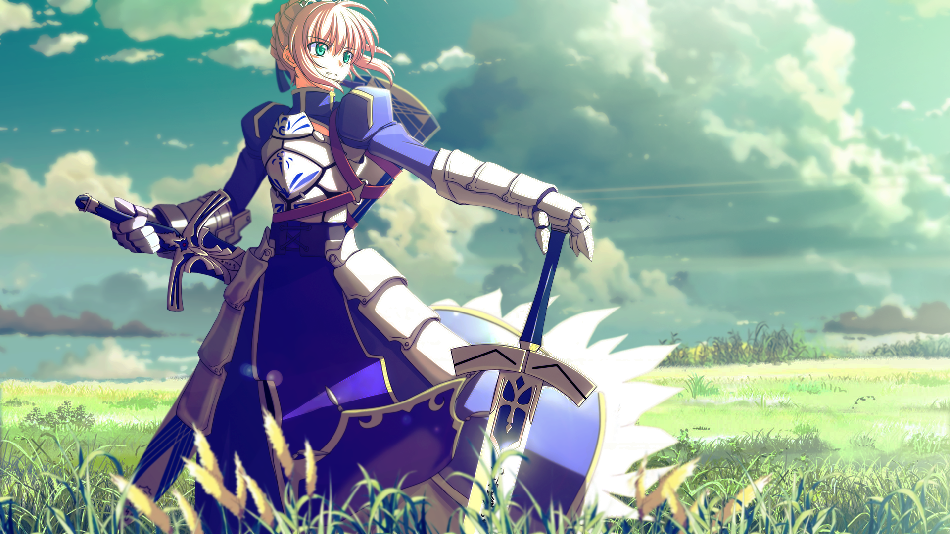 fate/stay night wallpaper 1 hd wallpaper - animewp