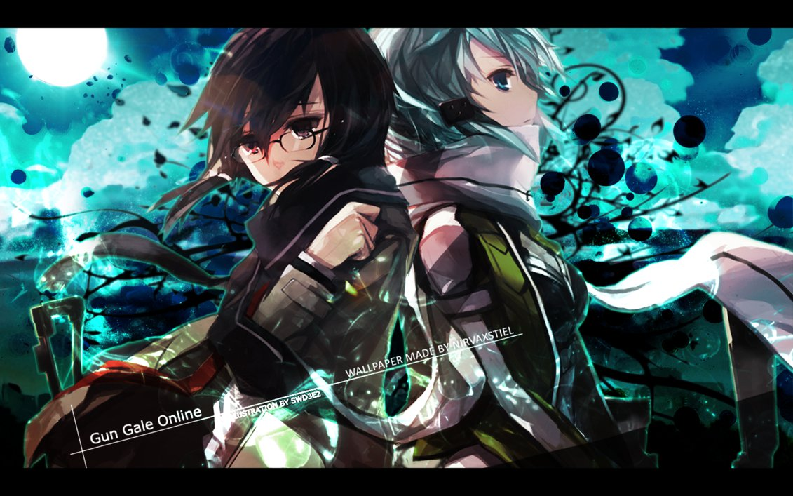 Gun Gale Online 19 Wide Wallpaper Animewp Com