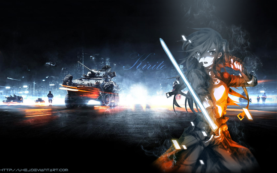 Gun Gale Online 35 Anime Background
