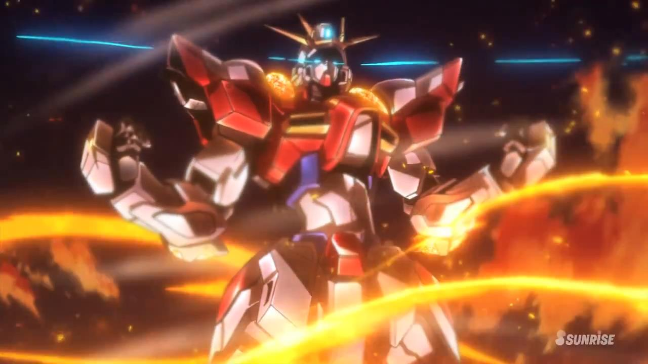Gundam Build Fighters Try 20 Desktop Background