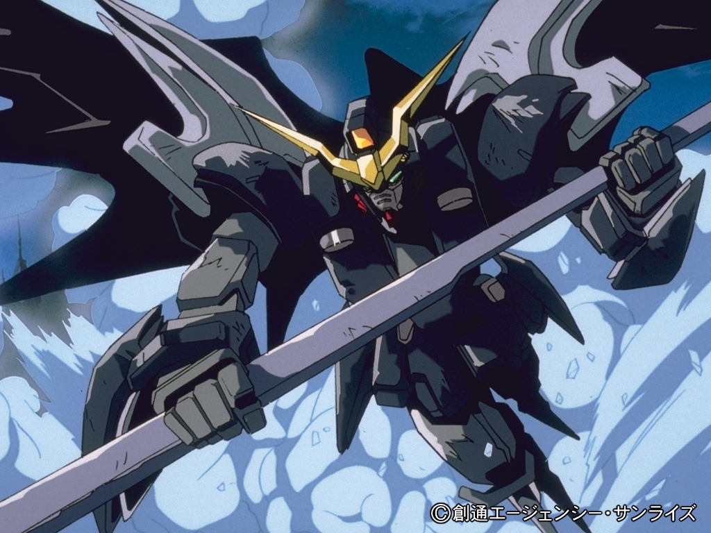 Gundam Wing 34 Background Wallpaper
