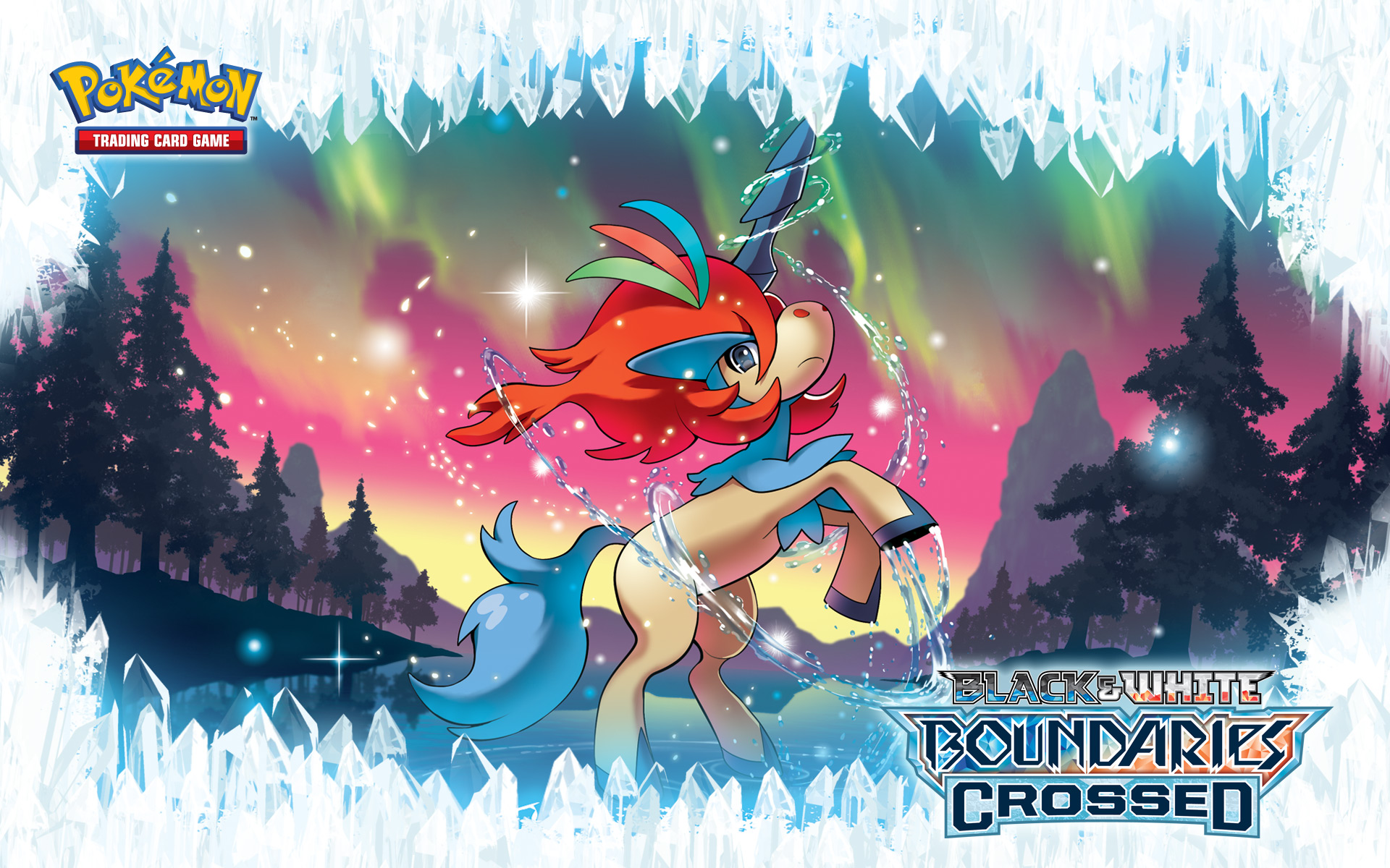 Pokemon Xy Keldeo 41 Background Wallpaper