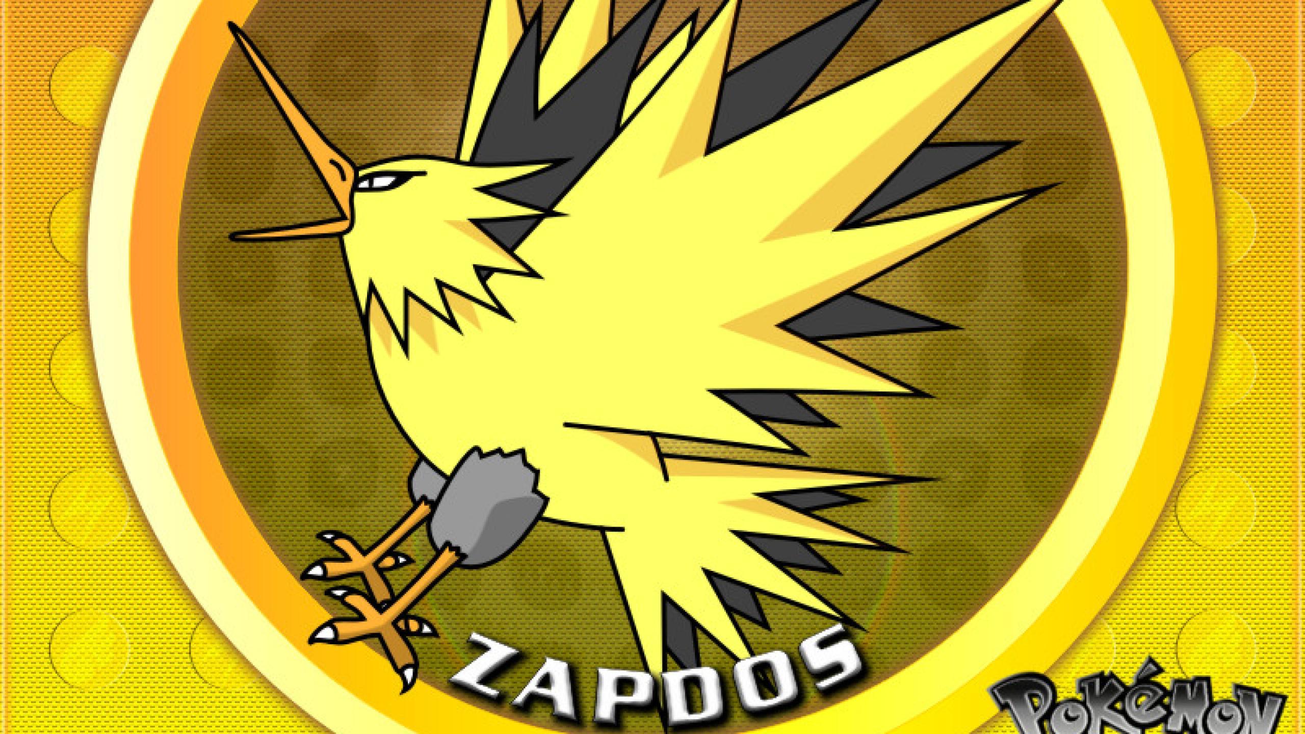 Pokemon Xy Zapdos 27 Desktop Background