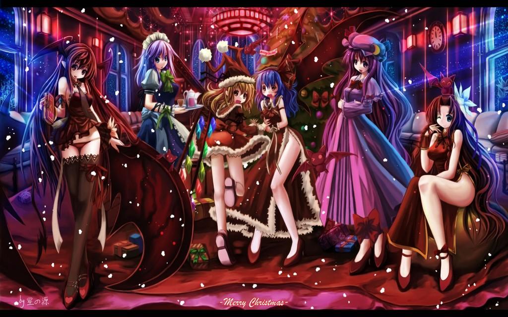 Christmas Wallpaper Anime Cute Anime Wallpapers Hd Group 54 Anime
