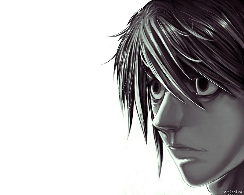 L Death Note Hd Wallpaper 2 Anime Background - Animewp.com