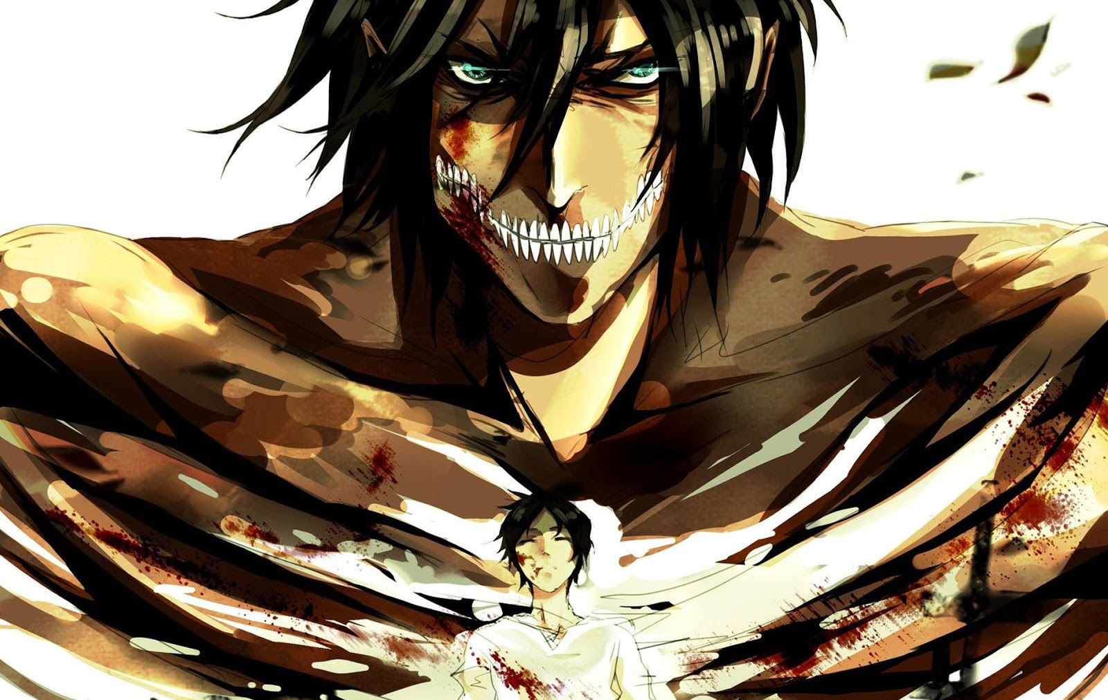 attack on titan eren 27 background wallpaper animewpcom
