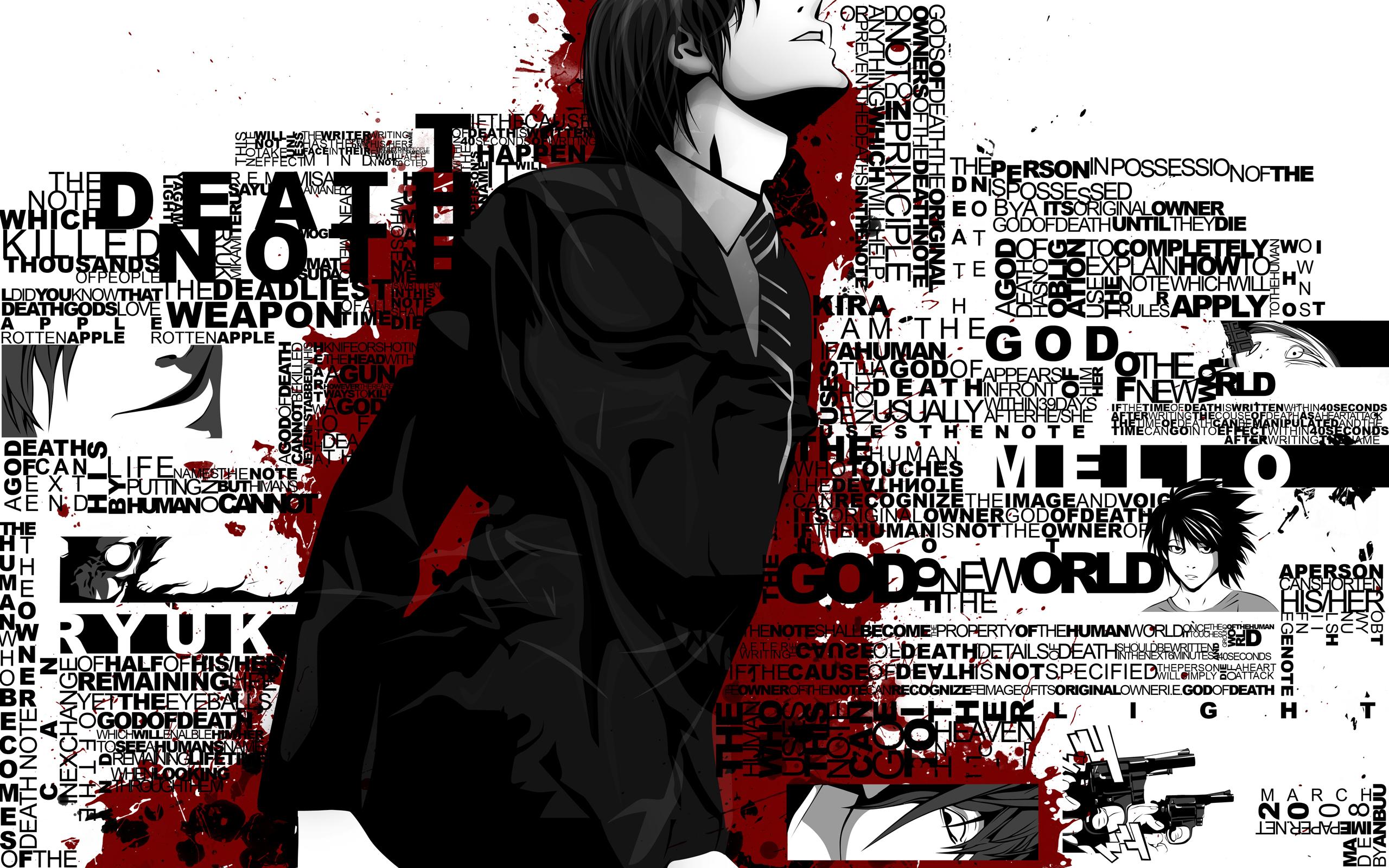 Death Note Game 6 Desktop Background
