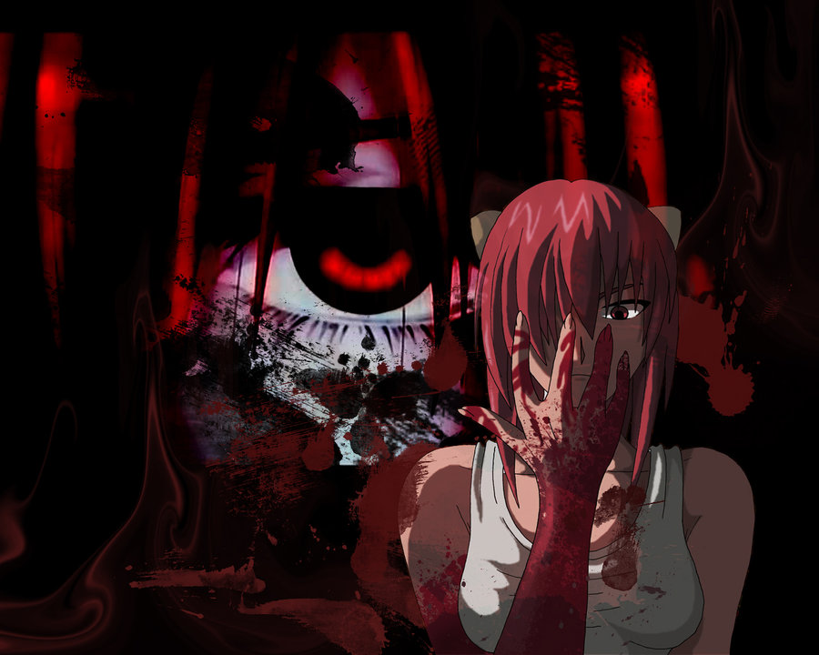 Elfen Lied Episode 2 3 Widescreen Wallpaper