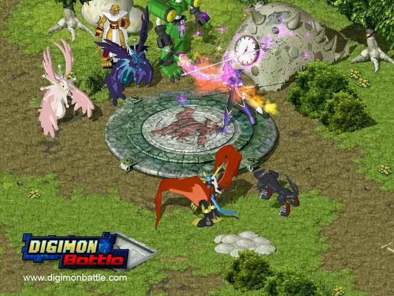 Online Rpg Digimon Game 32 Anime Background
