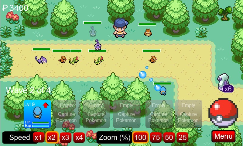 Tower defense pokemon download game