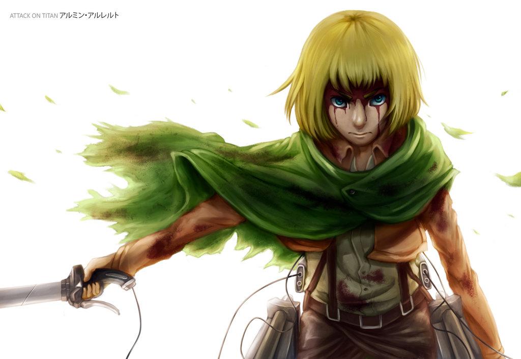 Armin Arlert 1 Desktop Wallpaper Animewp Com