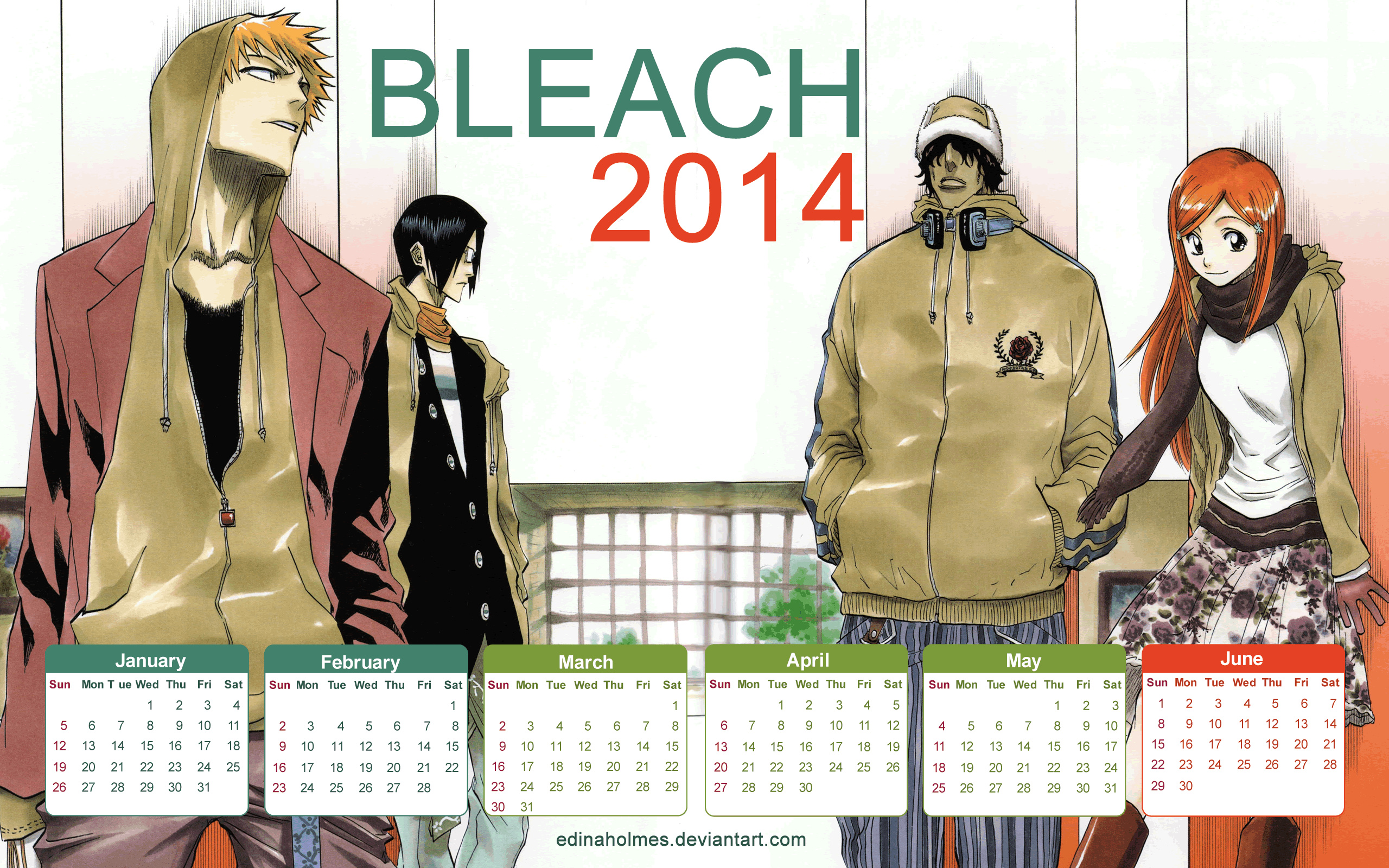 Bleach New Season 2014 14 Wide Wallpaper - Animewp com