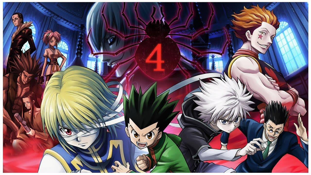 Hunter X Hunter 100 Desktop Background Animewp Com