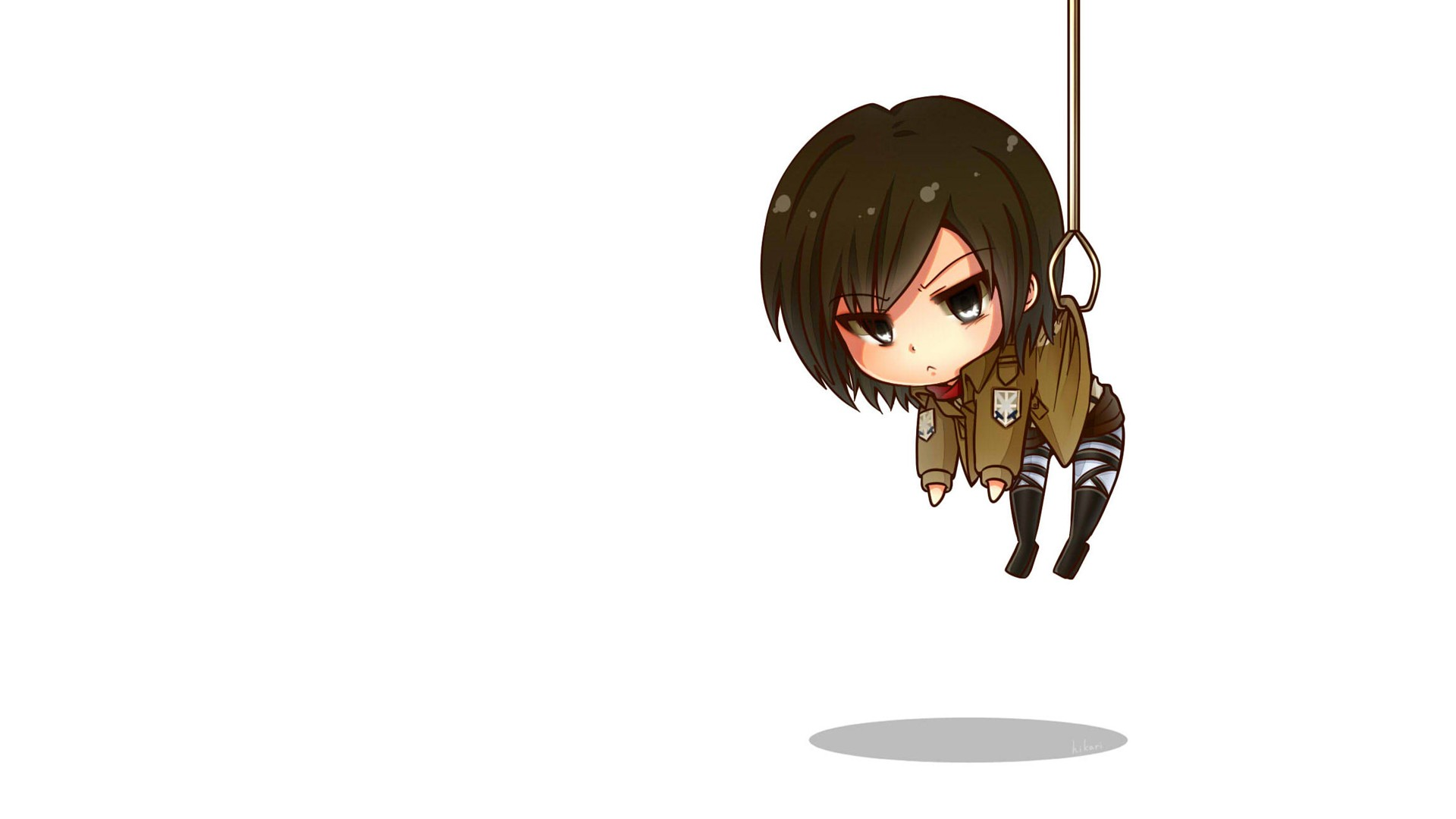 Mikasa Ackerman 3 Anime Background Animewp Com