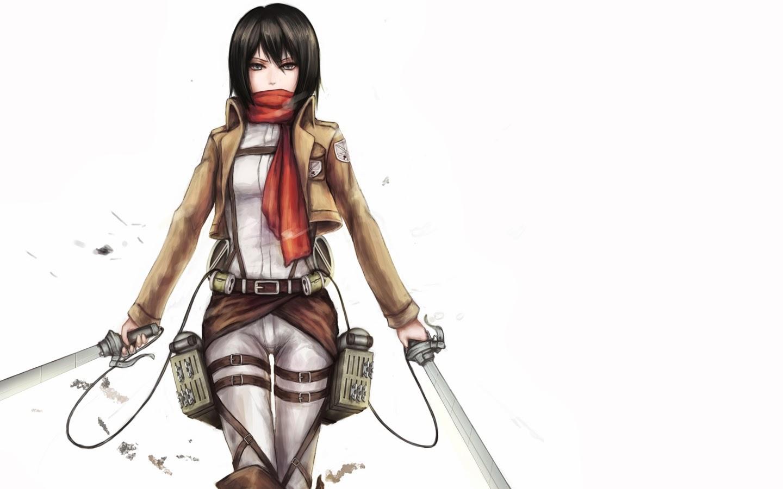 Mikasa Ackerman 5 Wide Wallpaper Animewp Com