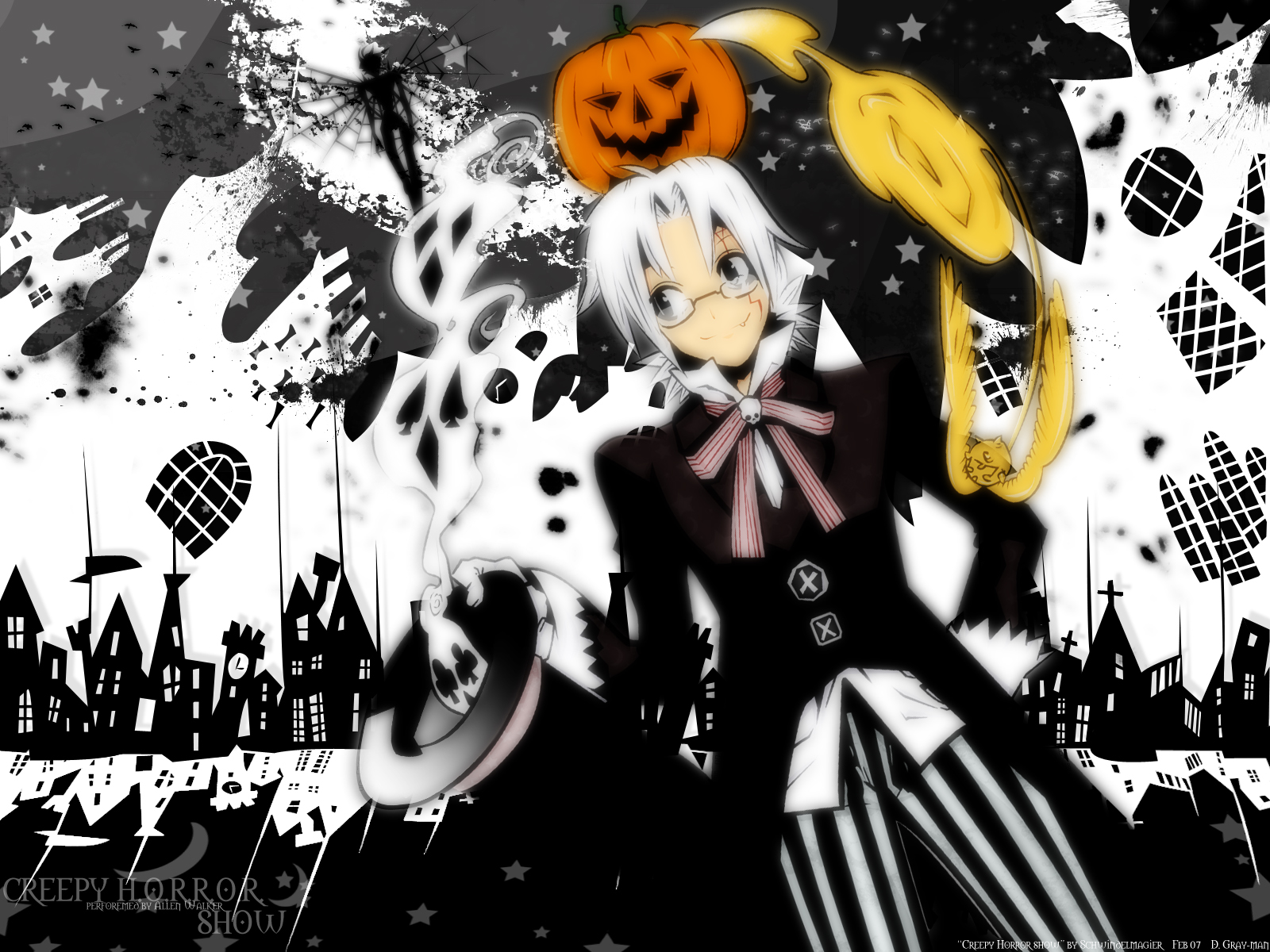 D Gray Man Wallpaper Desktop Background Animewp Com