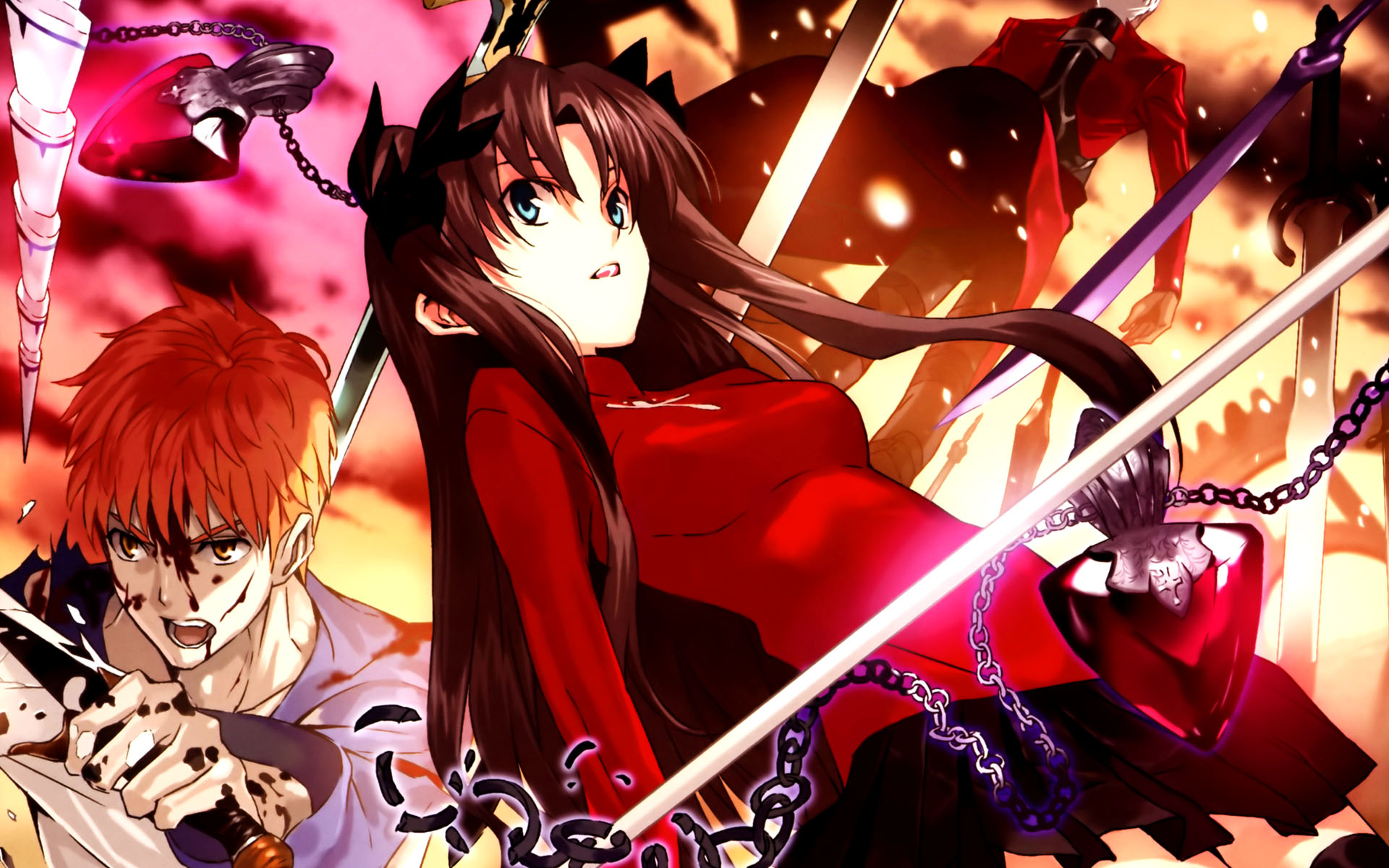 Fate Stay Night Unlimited Blade Works Wallpaper 17 Widescreen