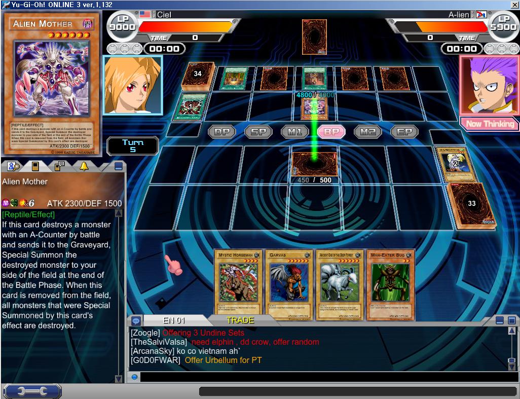 Play Yugioh Online